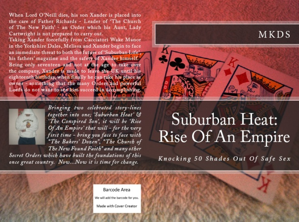 Suburban Heat - Rise of an Empire - Paperback Cover 3