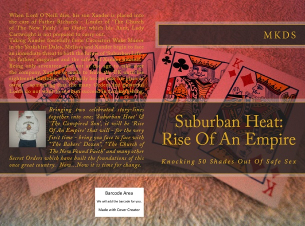 Suburban Heat - Rise of an Empire - Paperback Cover 4